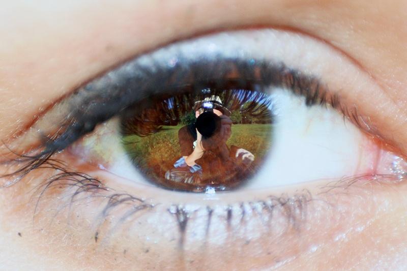 Derins öga / Självporträtt