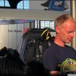 Backpacking genom Europa.